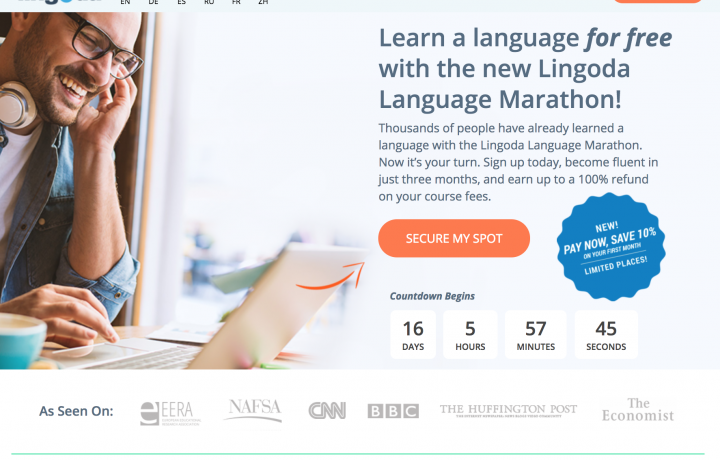 Lingoda марафон